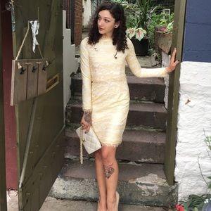 Yi Mi Lan Lace Dress